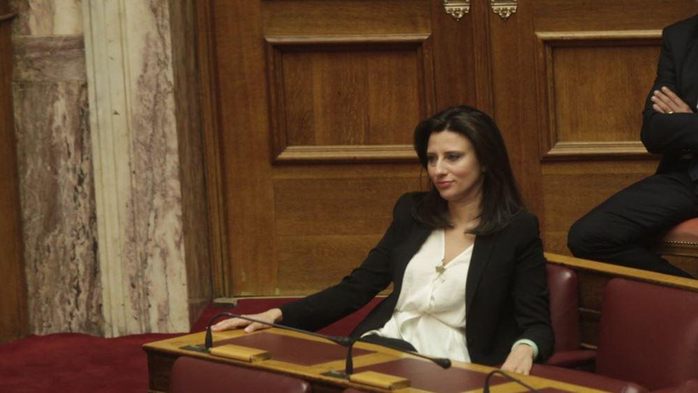 """Παρέμβαση Προέδρου της Βουλής για Ν. Κασιμάτη – """"Συγγνώμη"""" ζήτησε η βουλευτής του ΣΥΡΙΖΑ"""