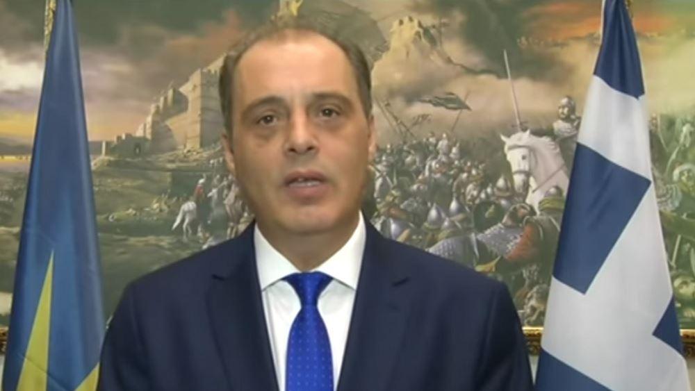 Σύγκληση του συμβουλίου πολιτικών αρχηγών ζήτησε από τον πρωθυπουργό ο Κ. Βελόπουλος