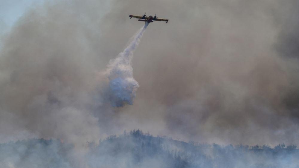 Κύπρος: Εκκενώνεται λόγω πυρκαγιάς το χωριό Προαστειό, στην επαρχία Λεμεσού