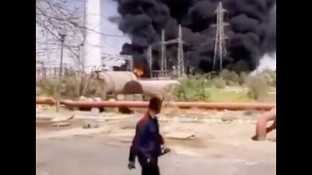 Ιράν: Φωτιά σε σταθμό παραγωγής ηλεκτρικής ενέργειας με υπόνοιες δολιοφθοράς