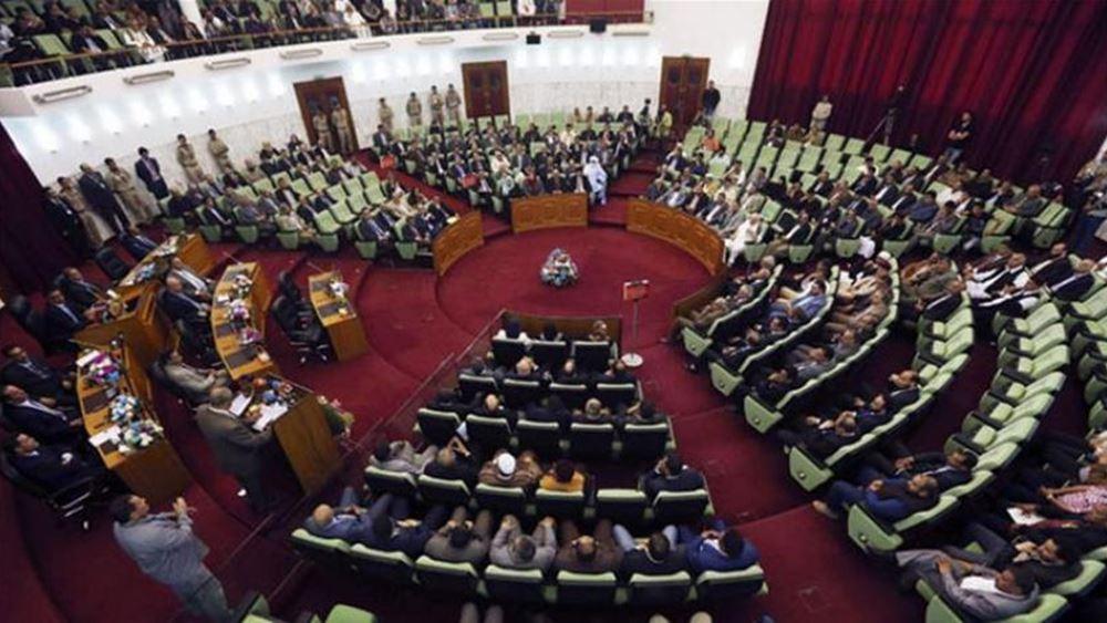"""Η αποστολή τουρκικού στρατού στη Λιβύη είναι """"προδοσία"""" από τον Σαράτζ, λέει η Βουλή της Λιβύης"""