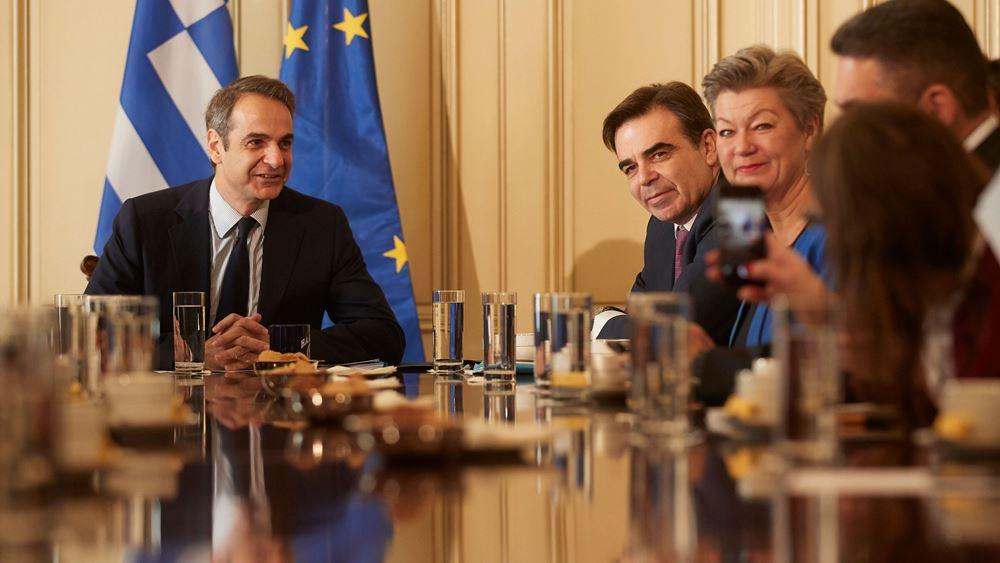 Κ. Μητσοτάκης: Στόχος ένα κοινό ευρωπαϊκό σύστημα ασύλου