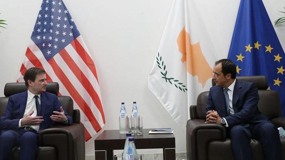 ΗΠΑ: Υποστήριξη στα κυριαρχικά δικαιώματα της Κύπρου