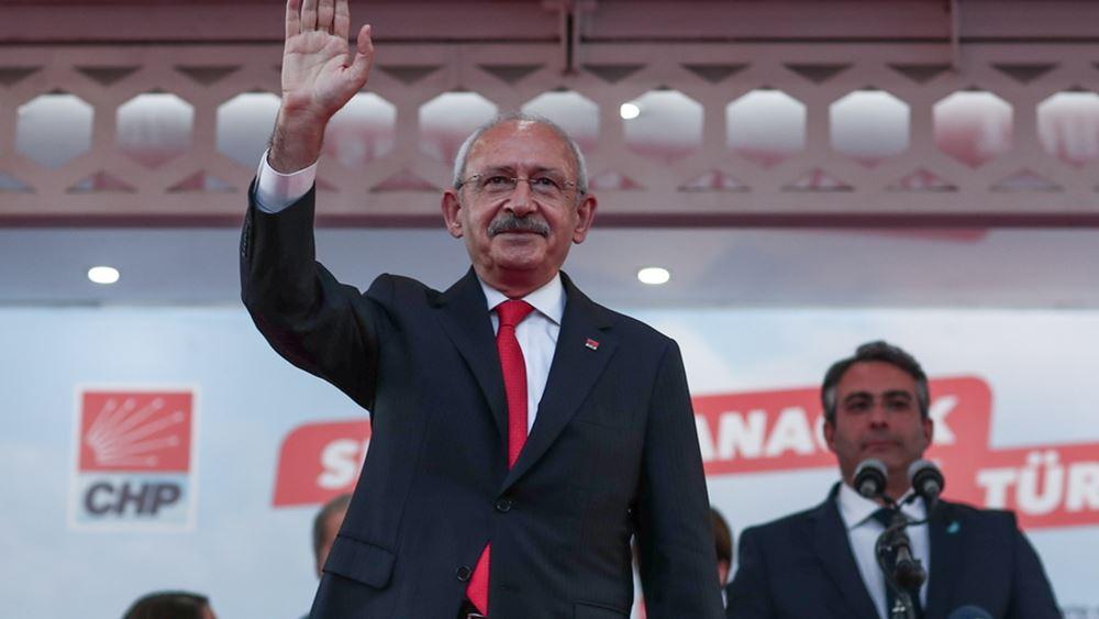 Φιλοδοξίες και παιχνίδια εξουσίας στο CHP: Ο Κιλιτσντάρογλου θα είναι αντίπαλος του Ερντογάν στις εκλογές