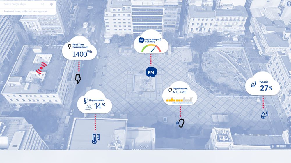 Project Αθηνά: Καινοτομία και τεχνολογία στην υπηρεσία του Δήμου Αθηναίων, για μια πόλη καθαρή και προσβάσιμη