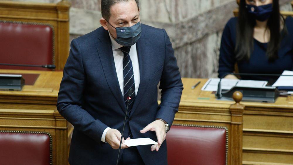 Πέτσας: Την Παρασκευή συζήτηση στη Βουλή περί αυθαιρεσίας αστυνομικών οργάνων και διαδηλώσεις