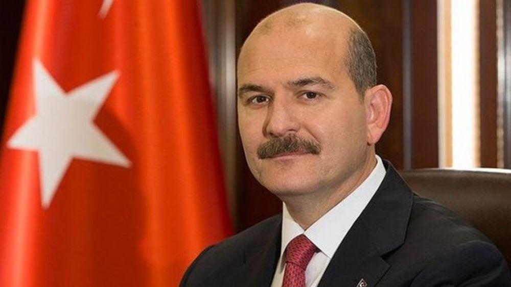"""Ο Σοϊλού λέει ότι μειώθηκαν οι ροές προς την Ελλάδα και """"γκρινιάζει"""" ότι η ΕΕ δεν σκέφτεται την Τουρκία"""