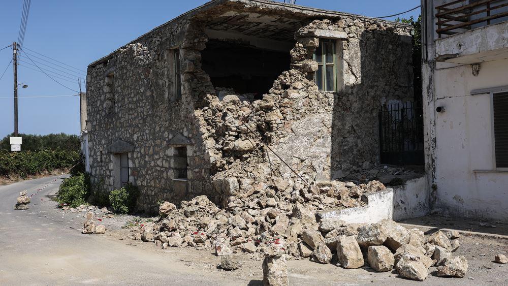 Νέος σεισμός 6,3 Ρίχτερ στην Κρήτη