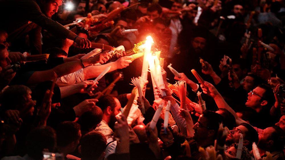 Tο Άγιο Φως θα φτάσει στην Αθήνα, αλλά δεν θα διανεμηθεί σε ναούς και πιστούς