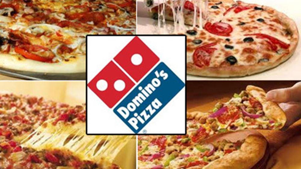 Domino's: Καλύτερα των εκτιμήσεων τα κέρδη, χειρότερα τα έσοδα