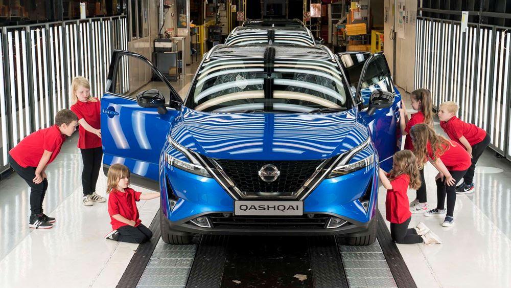 Η Nissan στην Ιαπωνία θα προσαρμόσει την παραγωγή σε πολλά εργοστάσιά της, λόγω της διεθνούς έλλειψης ημιαγωγών