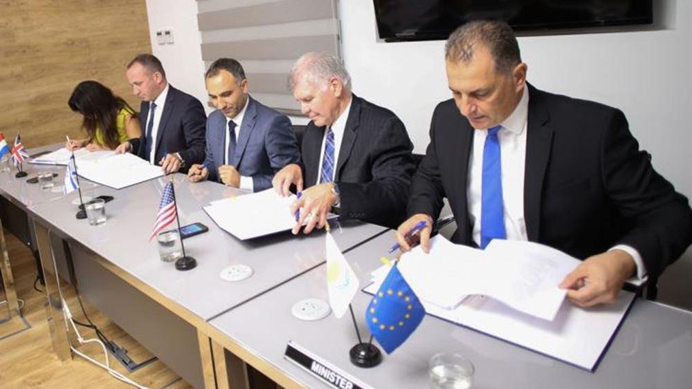 """Κύπρος: Έπεσαν οι υπογραφές για την άδεια εκμετάλλευσης του κοιτάσματος """"Αφροδίτη"""""""