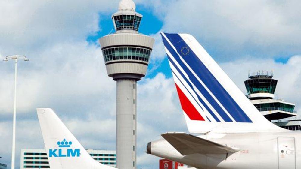 Air France-KLM: Θα μειωθεί κατά περισσότερο από 90% η επιχειρησιακή ικανότητα