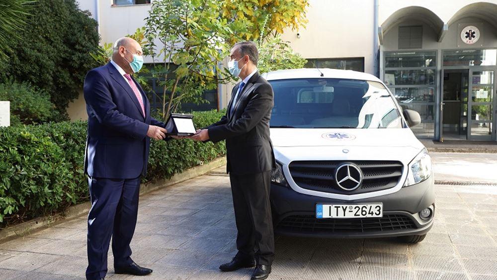 Η Mercedes-Benz συνεχίζει να προσφέρει έμπρακτα στο Εθνικό Κέντρο Άμεσης Βοήθειας.