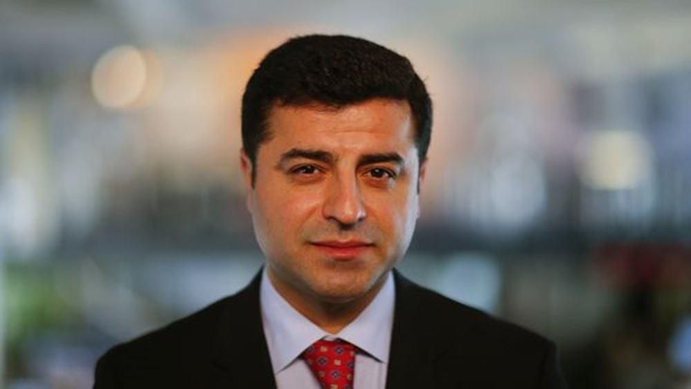 Τουρκία: Στο Ευρωδικαστήριο Ανθρωπίνων Δικαιωμάτων η υπόθεση προφυλάκισης του Σελαχατίν Ντεμιρτάς