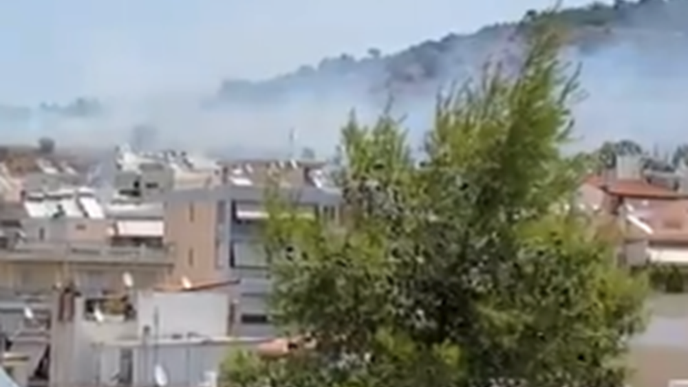 Υπό έλεγχο η φωτιά που εκδηλώθηκε στον λόφο Αράπη στο Βύρωνα