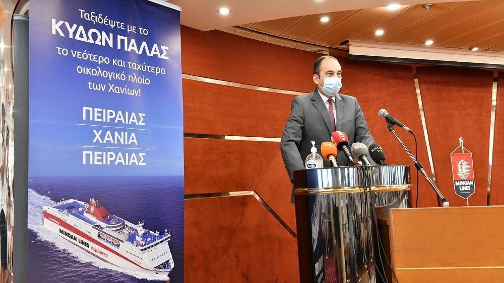 Γ. Πλακιωτάκης: Μονόδρομος η βελτίωση της ποιότητας των ακτοπλοϊκών συγκοινωνιών