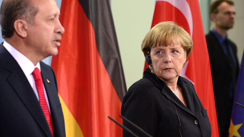 Bild: Πιέσεις Ερντογάν σε Μέρκελ για να αποκλειστεί η Ελλάδα από τη διάσκεψη - Διαψεύδει η Γερμανία