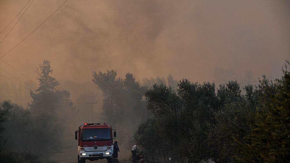 """Ζητήθηκε ενεργοποίηση της ευρωπαϊκής υπηρεσίας """"Κοπέρνικος"""" για καταγραφή των ζημιών στην Εύβοια"""