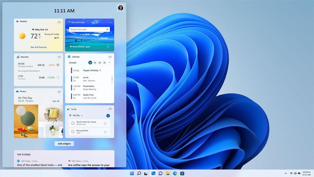 Τα νέα Windows 11 παρουσίασε ηMicrosoft