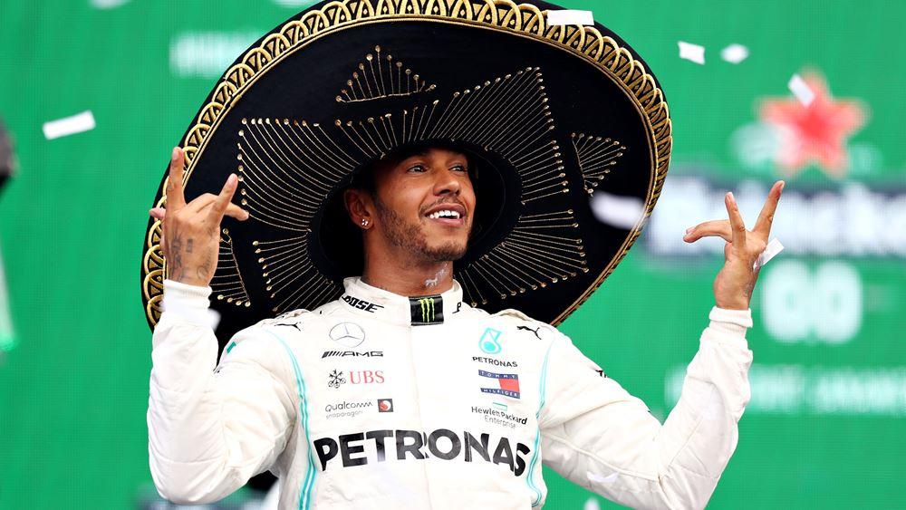 F1: Νίκη του Hamilton (vid.)