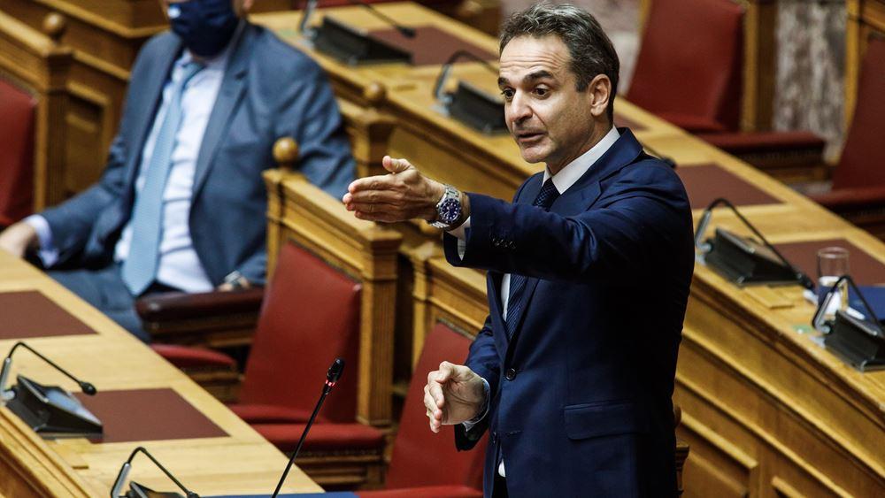 """Μητσοτάκης σε Τσίπρα: Το πνεύμα """"Πολάκη"""" εμφανίστηκε στη Βουλή μέσα από τα λεγόμενά σας"""