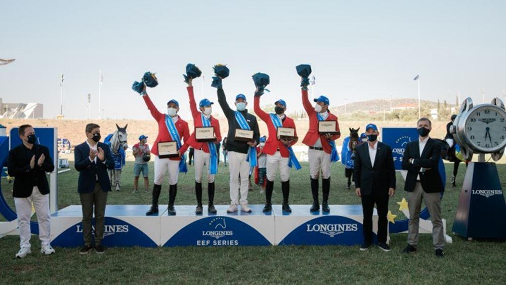 Oλοκληρώθηκε με μεγάλη επιτυχία το τελευταίο Κύπελλο Εθνών της Longines EEF Series Athens