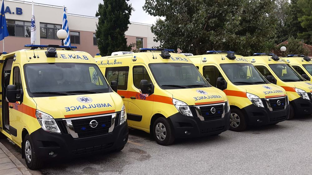 To ΕΚΑΒ εντάσσει στον στόλο του 25 ασθενοφόρα Nissan NV400