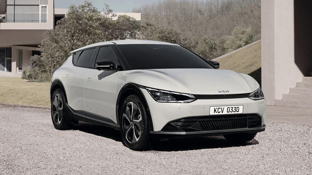 H Kia αποκαλύπτει το νέο και ηλεκτρικό EV6