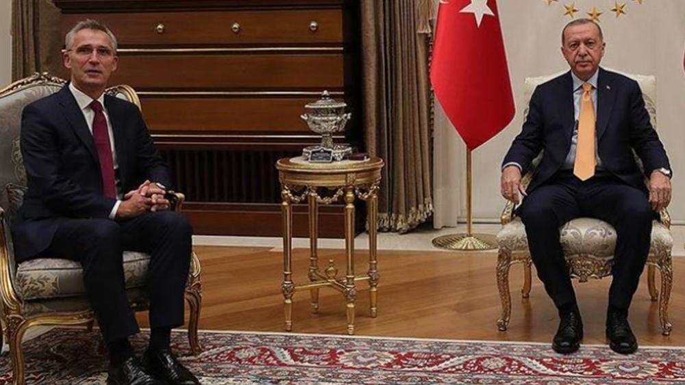 Ολοκληρώθηκε η συνάντηση Ερντογάν - Στόλτενμπεργκ στην Άγκυρα
