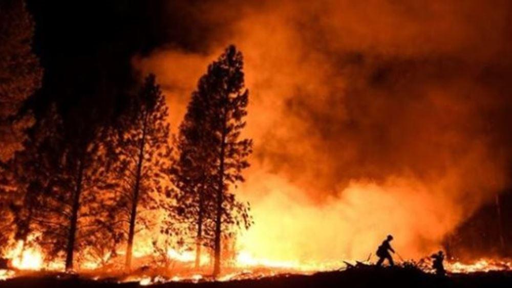 Δασικές πυρκαγιές σαρώνουν το βορειοδυτικό τμήμα της Ιταλίας