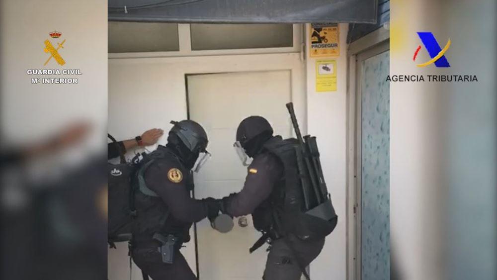 Ισπανία: Η αστυνομία εξάρθρωσε μια από τις μεγαλύτερες συμμορίες διακίνησης ναρκωτικών