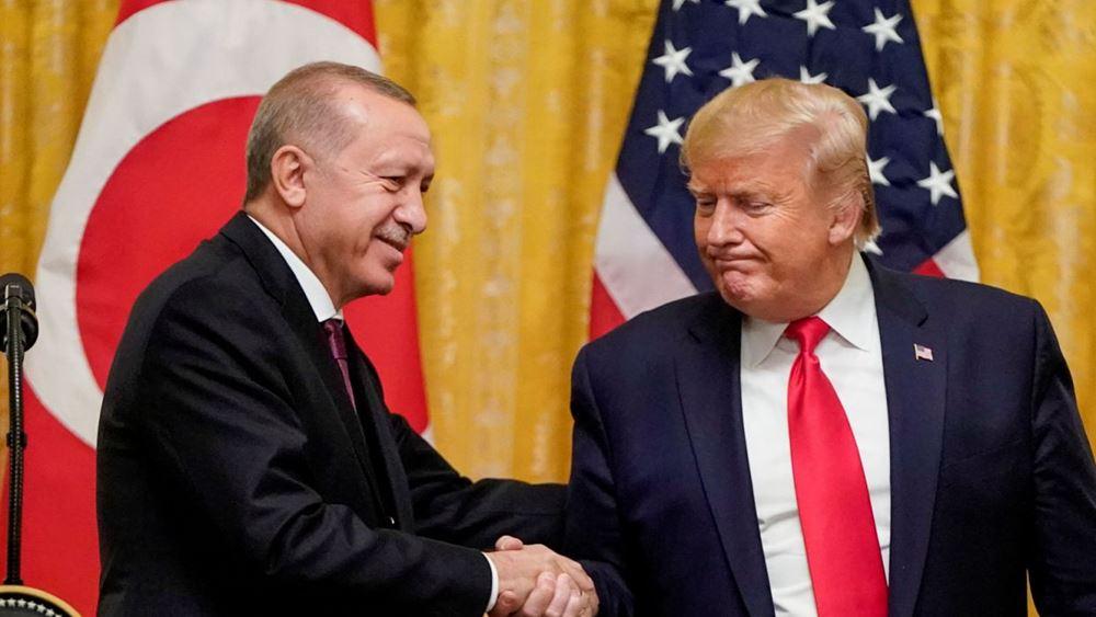 Ο Τραμπ λέει ότι θα ασκήσει βέτο στο αμυντικό νομοσχέδιο που προβλέπει κυρώσεις προς την Τουρκία