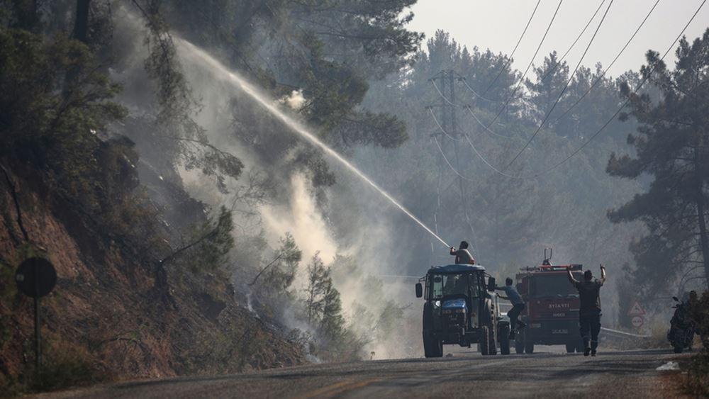 Επίθεση τουρκικού ΥΠΕΞ: Ψέμα το ότι η Ελλάδα θέλει να βοηθήσει την Τουρκία με τις πυρκαγιές