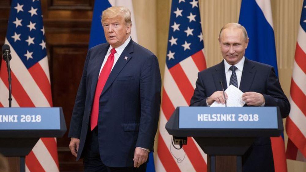 Την λύπη του εξέφρασε το Κρεμλίνο για την ακύρωση της συνάντησης Τραμπ - Πούτιν