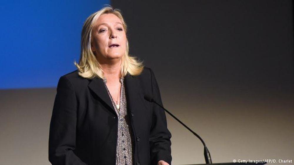 Γαλλία: Υποψήφια στις προεδρικές εκλογές του 2022 η Μαρίν Λεπέν