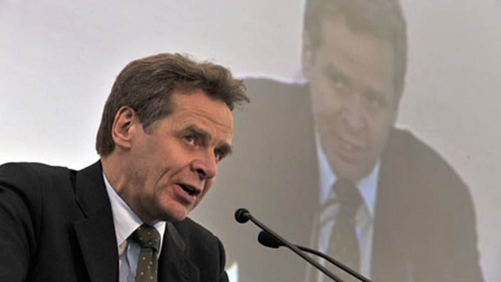 """Τόμσεν: Η Ευρωζώνη συνεχίζει να είναι ευάλωτη σε """"κραδασμούς"""" κρατικών κρίσεων χρέους"""