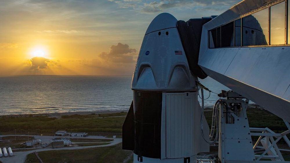 Αναβλήθηκε η εκτόξευση της SpaceX λόγω καιρικών συνθηκών