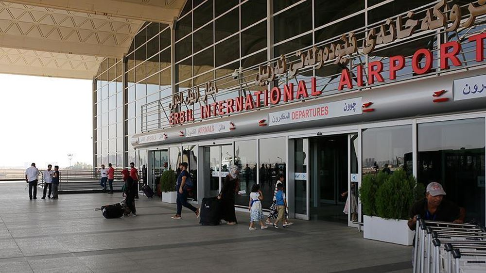 Ιράκ: Τρεις ρουκέτες έπληξαν το αεροδρόμιο της πόλης Ερμπίλ