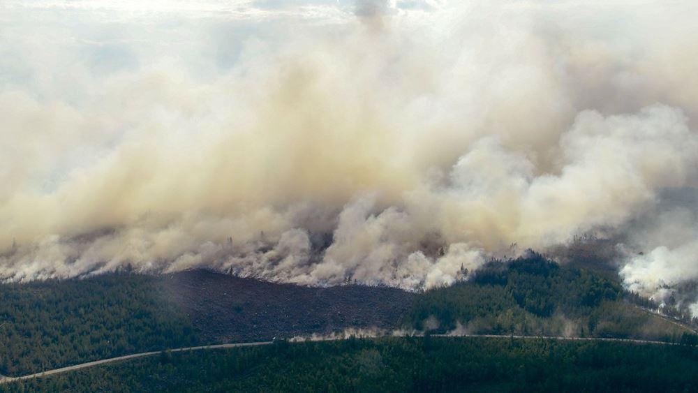 Δορυφόροι της ΕΕ κατέγραψαν για πρώτη φορία εστία δασικής πυρκαγιάς στον πολικό κύκλο της Σιβηρίας