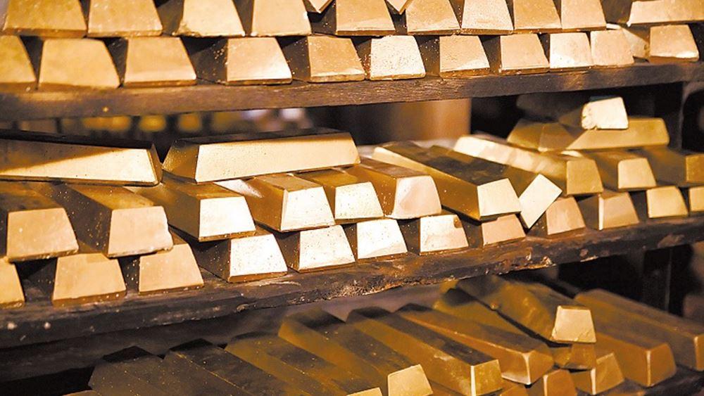 Πενιχρά τα εβδομαδιαία κέρδη για τον χρυσό