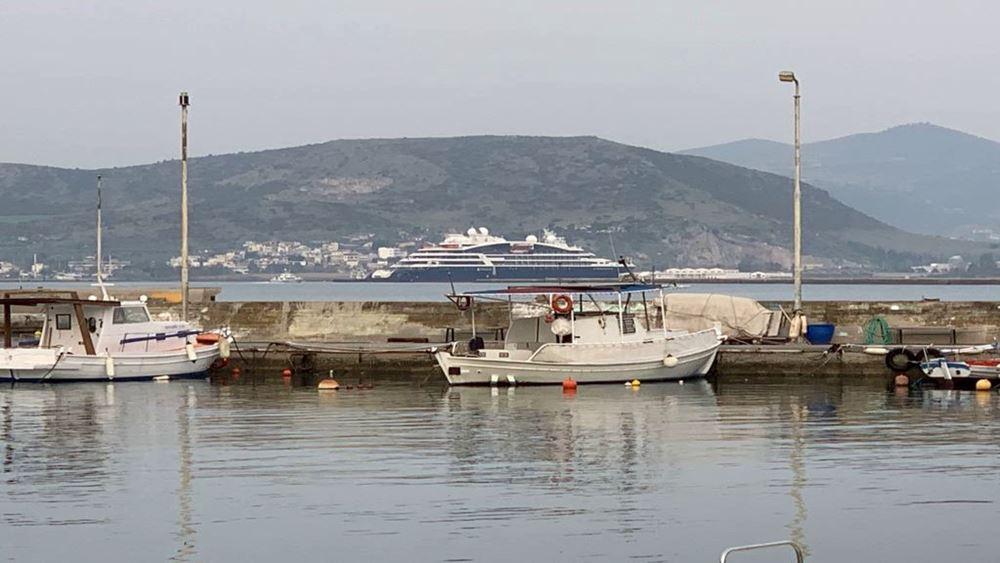 Αφίξεις κρουαζιερόπλοιων στο λιμάνι του Βόλου