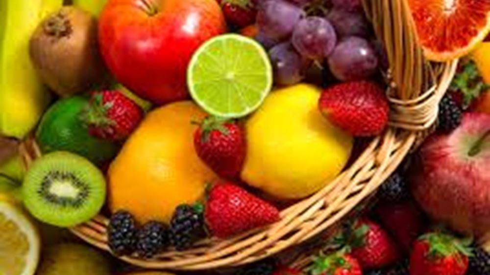 Δέσμευση 2,8 τόνων φρούτων στην περιοχή του Ρέντη