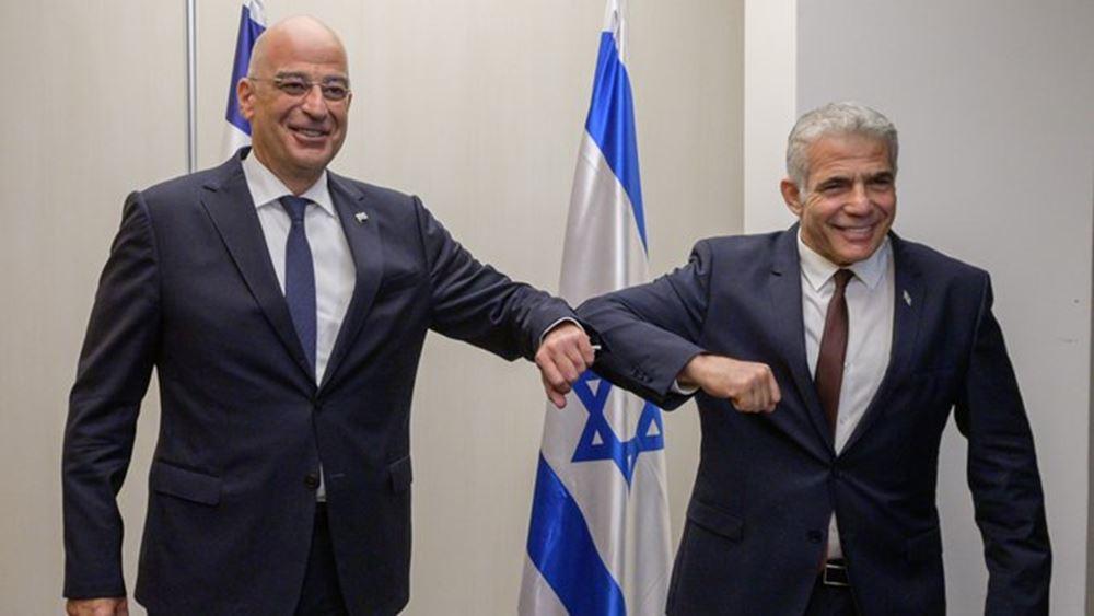 Ν. Δένδιας: Ξεκάθαρη η ισραηλινή τοποθέτηση ενάντια στην απαράδεκτη τουρκική στάση