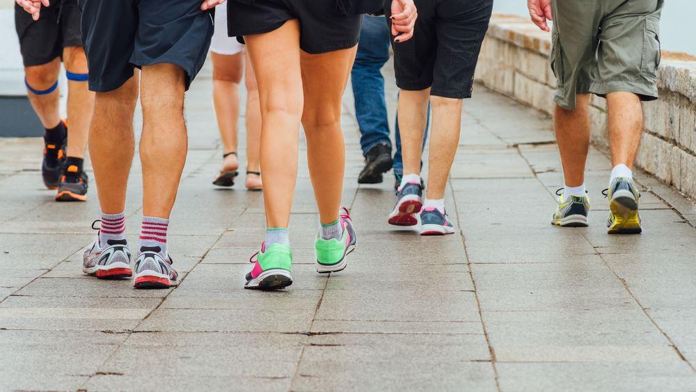 Παγκόσμια Ημέρα Φυσικής Δραστηριότητας: Γιορτάστε την με ένα δυναμικό περπάτημα!