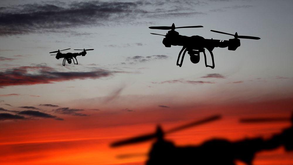 """Προηγμένα drones με λειτουργία """"σμήνους"""" θα κατασκευάσει η Ελλάδα"""