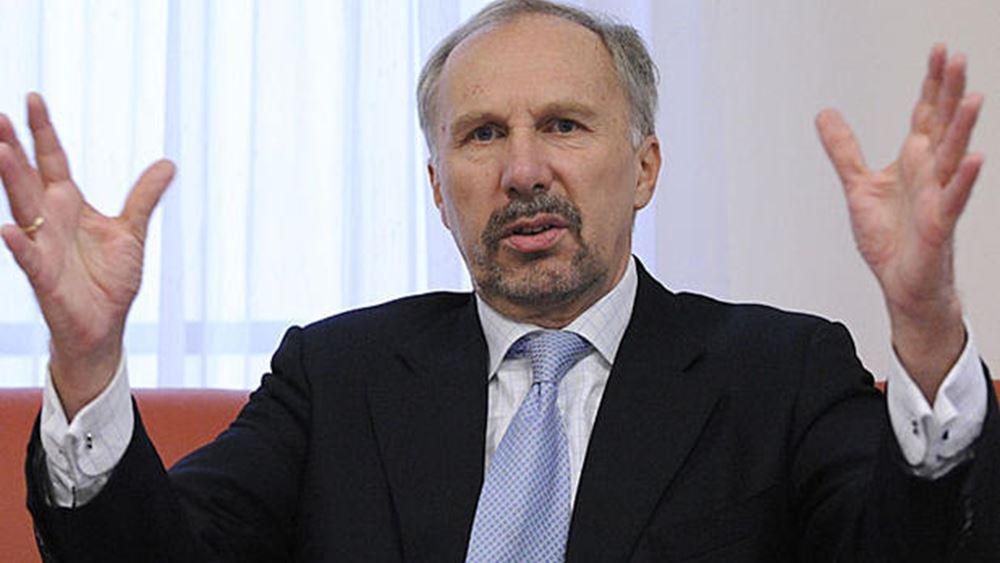 Nowotny: Η ΕΚΤ μπορεί να ομαλοποιήσει τη νομισματική της πολιτική πριν επιτευχθεί ο στόχος για τον πληθωρισμό