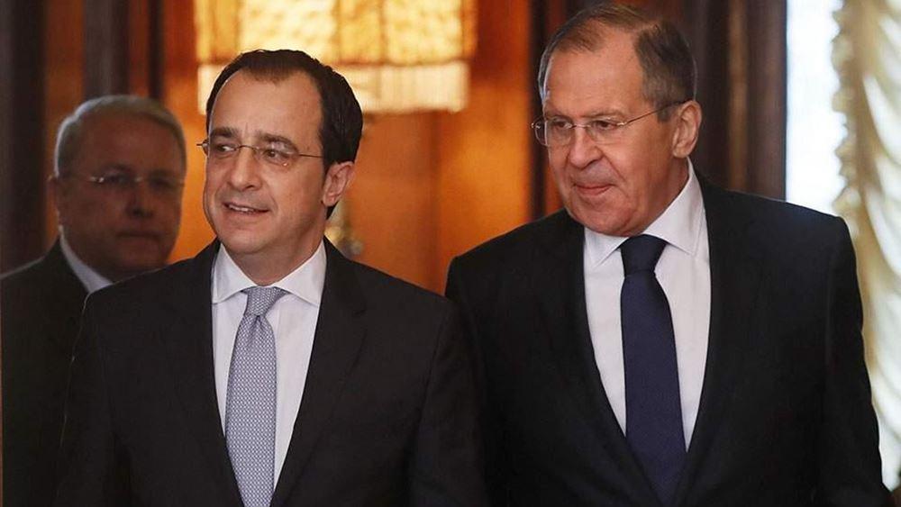 Κύπρος: Τηλεφωνική επικοινωνία Ν. Χριστοδουλίδη - Σ. Λαβρόφ