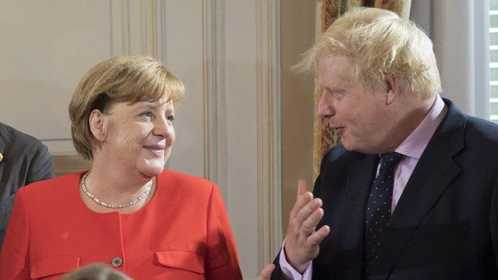 Α. Μέρκελ: Θέλουμε στενή εταιρική σχέση με τη Βρετανία
