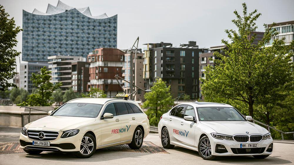 Κοινοπραξία μεταξύ BMW Group και Daimler Mobility AG